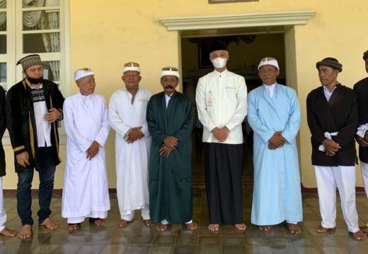 Gubernur Ganjar Temui Pangeran Kesultanan Ternate