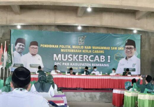 Nasib Petani Nelayan dan Nakes Jadi Sorotan di Muskercab PKB Rembang
